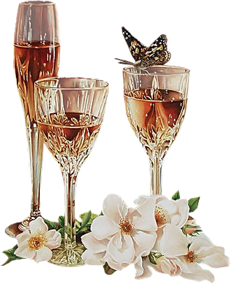 gifs champagne flutes trinquons. Black Bedroom Furniture Sets. Home Design Ideas